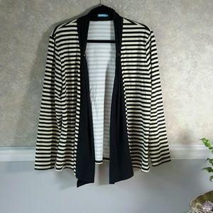 J. MCLAUGHLIN | Breezy Striped Jacket